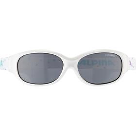 Alpina Sports Flexxy Okulary rowerowe Dzieci, white-dots